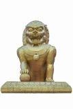 Porcelanowa lew statua Obraz Royalty Free