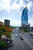 porcelanowa pejzaż miejski Fujian prowincja Xiamen Obrazy Royalty Free