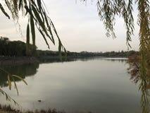Porcelanowa Pekin Nanhaizi Parkowa pi?kna sceneria obrazy stock