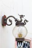 Porcelanowa smok lampa Zdjęcia Royalty Free
