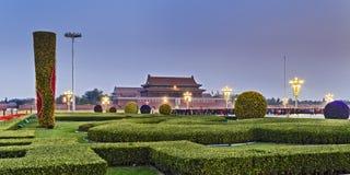 Porcelanowa Tiananmen 2 południe brama Opuszczać Obraz Royalty Free