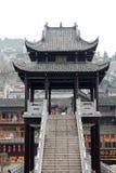 Porcelanowa turystyka w Fenghuang okręg administracyjny Obraz Royalty Free