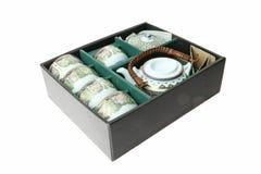 porcelanowa ustalona herbata Obraz Stock