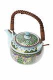 porcelanowa ustalona herbata Fotografia Stock