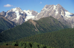 porcelanowe góry Obrazy Royalty Free