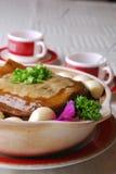 porcelanowego wyśmienicie jedzenia uskorupiony miękki żółw Zdjęcia Stock