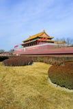 porcelanowej bramy nadziemski pokój Tiananmen fotografia royalty free