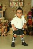 porcelanowy śliczny dzieciak zdjęcie stock