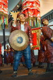 Porcelanowy Azja, Pekin kapitałowy muzeum, rzeźba, stary Pekin sedanu krzesło tradycyjna ślubna ceremonia Zdjęcia Royalty Free