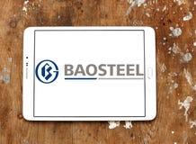Porcelanowy Baowu stali grupy logo Obrazy Stock