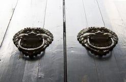 porcelanowy drzwiowy Shanghai obraz stock