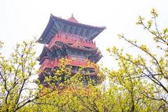 Porcelanowy Henan atrakcj turystycznych Kaifeng Qingming rzeki park fotografia stock