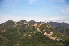 Porcelanowy Jinshanling wielki mur w Hebei Obraz Stock