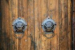 Porcelanowy klasyczny drzwi obraz royalty free