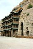 porcelanowy kulturalny datong grot dziedzictwo lokalizować światowego yungang Fotografia Stock
