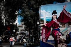 Porcelanowy miasteczko w Buenos Aires fotografia royalty free