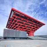 Porcelanowy muzeum sztuki, Poprzedni Światowy expo pawilon, Szanghaj, Chiny zdjęcie stock