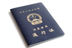 porcelanowy paszport Fotografia Stock