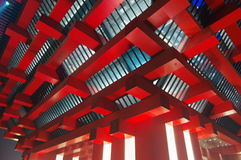 porcelanowy pawilon expo2010 Shanghai Zdjęcie Stock