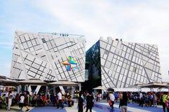 porcelanowy pawilon expo2010 Shanghai Sweden Zdjęcie Stock