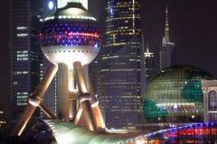 porcelanowy pearl Shanghai tower Obrazy Royalty Free