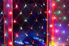 Porcelanowy Pekin Neonowy światło Zdjęcia Royalty Free