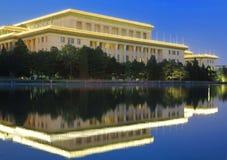 Porcelanowy Pekin Wielka Hala Ludowa Obrazy Royalty Free
