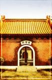 porcelanowy pocztówkowy miasteczko Fotografia Royalty Free
