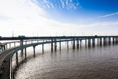 Porcelanowy ` s Hangzhou zatoki most Zdjęcie Stock