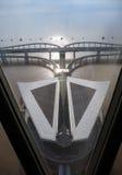 Porcelanowy ` s Hangzhou zatoki most Fotografia Stock