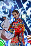 Porcelanowy ` s Jingju sławny aktor zdjęcia stock