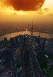 porcelanowy Shanghai Obrazy Stock