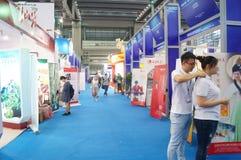 Porcelanowy (Shenzhen) zamorskiego chińczyka przemysłu targ handlowy zdjęcie stock
