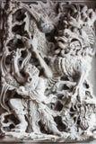 Porcelanowy smok Obraz Royalty Free