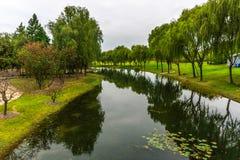 Porcelanowy Szanghaj ogród botaniczny 19 zdjęcie stock