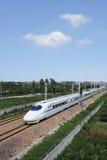 Porcelanowy szybkościowy pociąg Obraz Stock