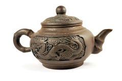 porcelanowy teapot obrazy royalty free