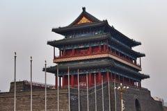 Porcelanowy Tiananmen południe bramy wierzchołek Zdjęcia Stock