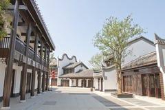 Porcelanowy tradycyjny miasteczko Zdjęcia Stock