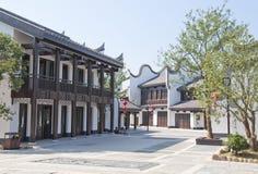 Porcelanowy tradycyjny miasteczko Obrazy Royalty Free