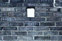 porcelanowy wielki mur Fotografia Royalty Free
