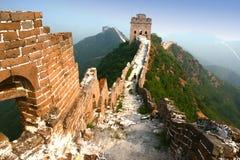 porcelanowy wielki mur Zdjęcia Royalty Free