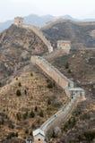 porcelanowy wielki mur Zdjęcia Stock