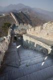 porcelanowy wielki mur Zdjęcie Stock