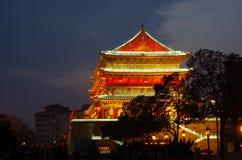 Porcelanowy Xian bębenu wierza Zdjęcie Stock