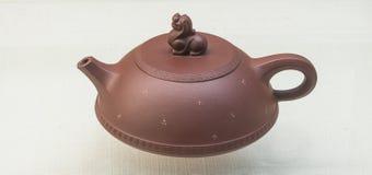 Porcelanowy Yixing piaska purpurowy teapot Obrazy Stock