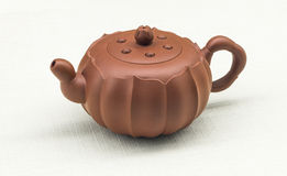 Porcelanowy Yixing piaska purpurowy teapot Obraz Royalty Free