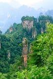 porcelanowy Zhangjiajie Zdjęcia Stock