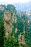 porcelanowy Zhangjiajie Fotografia Stock