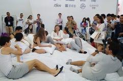 2015 Porcelanowych międzynarodowych gatunek bielizny wystaw (Shenzhen) Obraz Stock